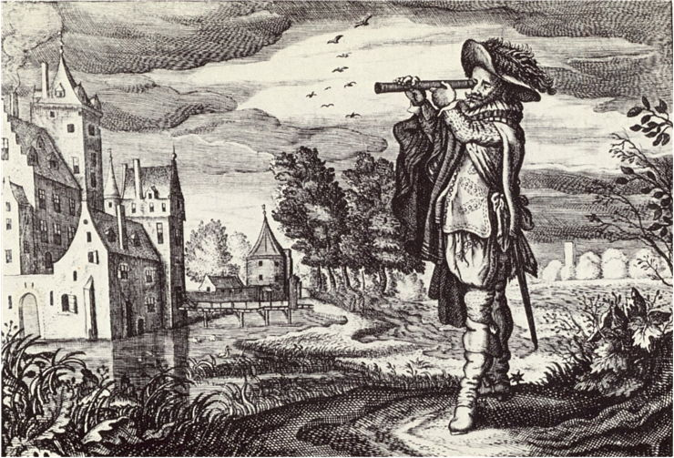 Picture Of Dutch Telescope From 1624