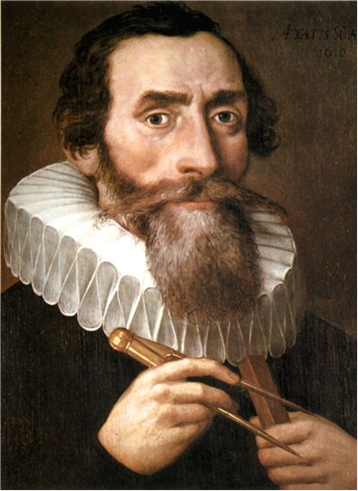 Picture Of Johannes Kepler 1610