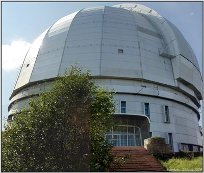 Picture Of Large Altazimuth Telescope