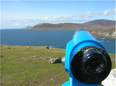 Picture Of Look Over The Atlantic From Achill Island West Of Ireland
