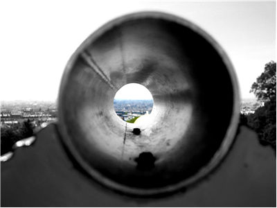 Picture Of Looking Through A View Finder