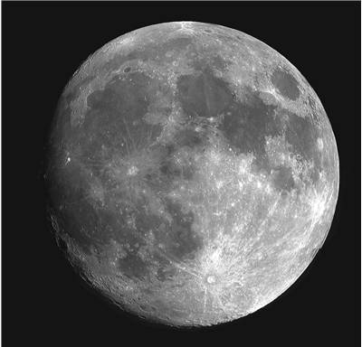 Picture Of Moon Seen From Telescope