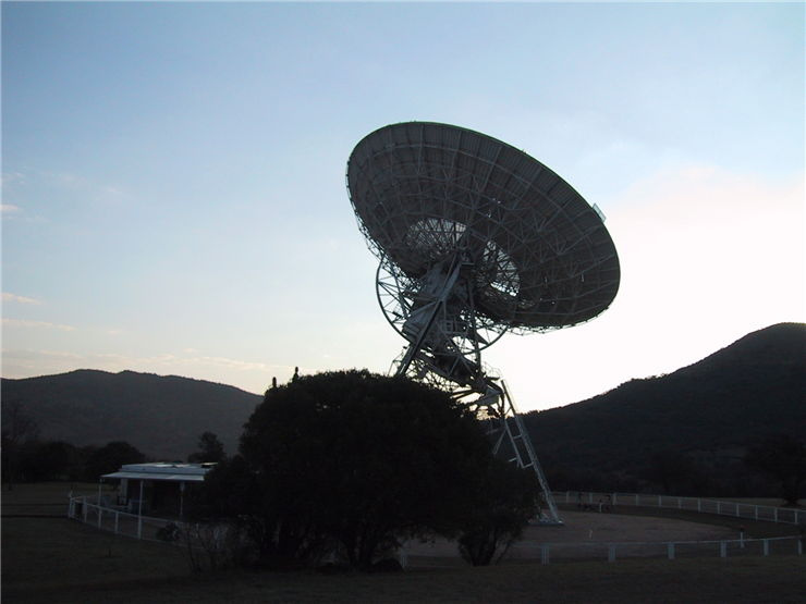 Picture Of Radio Astrnomy South Africa