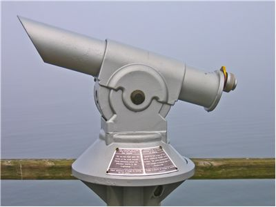 Picture Of Telescope Look To Sea