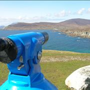 Picture Of Telescope On Achill Island West Of Ireland