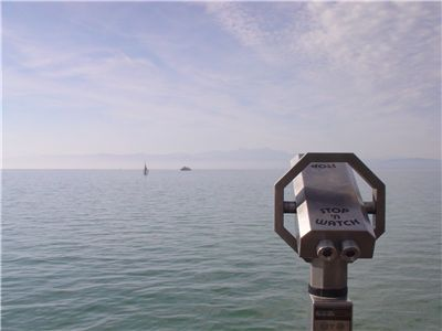 Picture Of Telescope On Lake Constance Germany