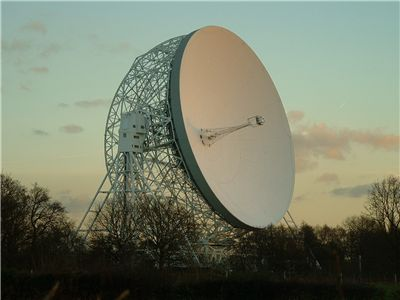 Picture Of The Jodrell Bank Observatory