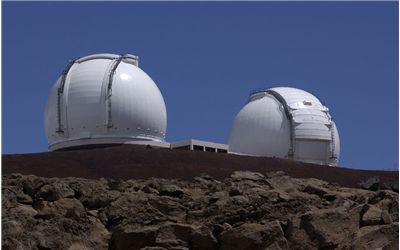Picture Of The Keck Observatory