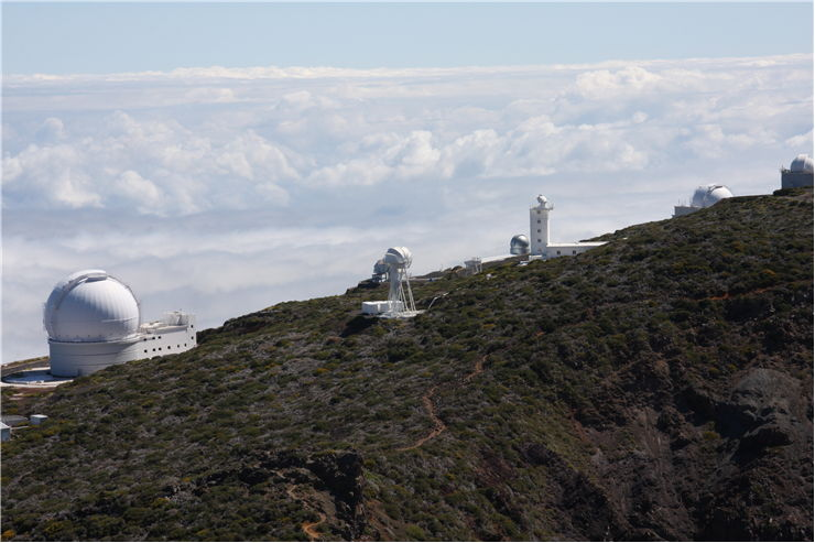 Picture Of Worlds Largest Telescope On The Island Of La Palma